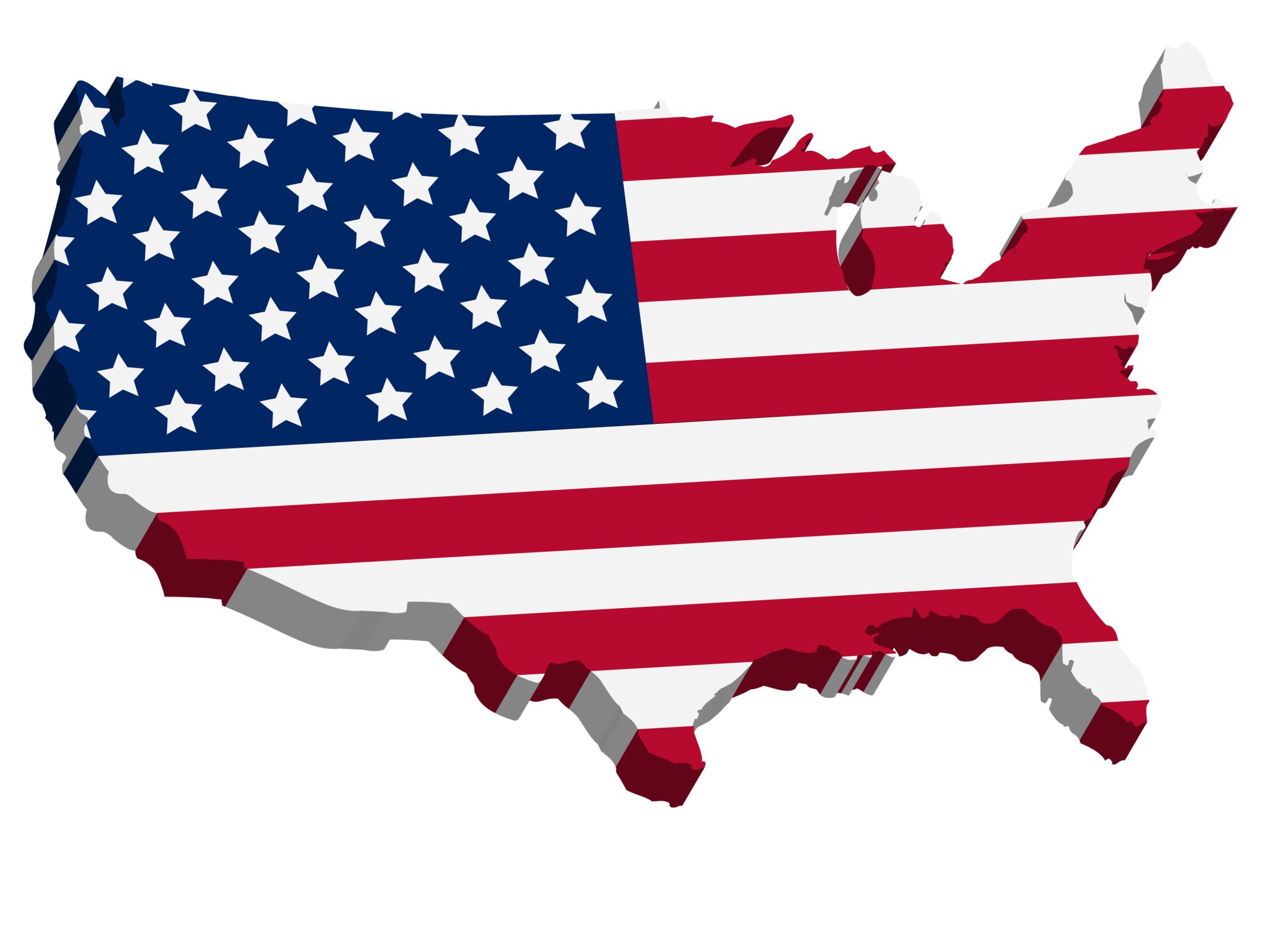 Us Map In 3d US map 3d   DestinHaus